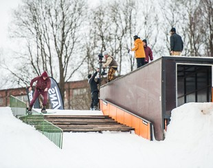 Shred Vacation+ HF King of Jib-report