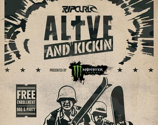 "Rip Curl ""Alive and Kickin"" tour"